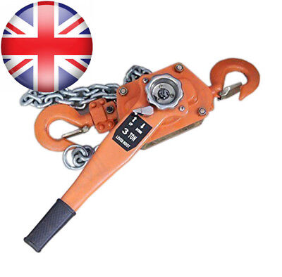 181715 Lever Ratchet Block Chain Hoist Winch For Pulling Lifting 1.5Ton 1500KG