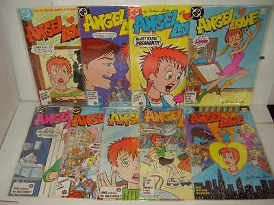 Dc Angel Love #1 - #8 + Special #1 - Complete Set - All High Grade Nm/m - 1986