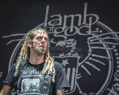 Lamb of God - Original 8x10 Color Concert Photo 2018