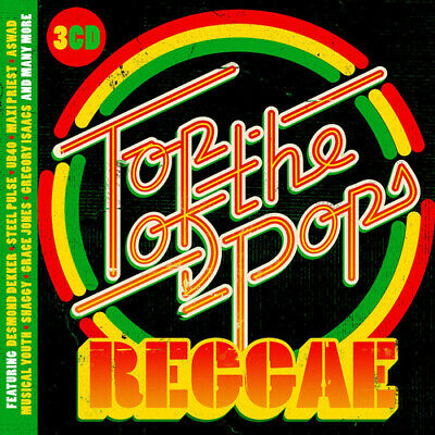 Various Artists : Top of the Pops: Reggae CD Box Set 3 discs (2018) Great Value