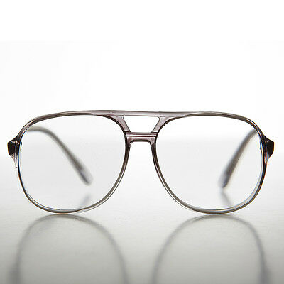 Gray 90s Aviator Classic Vintage Reading Glasses Diopter 1.00 - Irwin