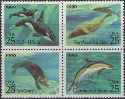 RJames: US 2511a Creatures of  the Sea setenent, MNH,VF