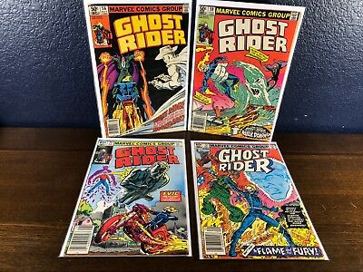 3 Comic Lot GHOST RIDER 6, 59 & 72 (1st 1973 Series) Bronze Age Set Johnny Blaze