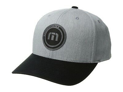 c772ba9de75 New Travis Mathew Hat Summer Circular model Snapback golf travismathew TM  gray