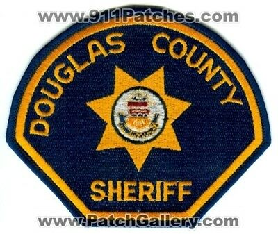 Douglas County Sheriffs Office Patch Colorado Co Co. Department Dept. Police Old