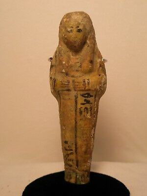 Ancient Egyptian Faience Ushabti