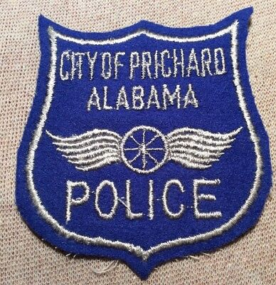 AL City of Prichard Alabama Police Patch (3In/Felt)