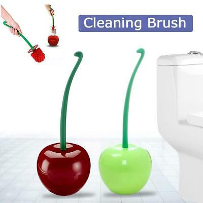 Cherry-shaped Toilet Wash Cleaner Brush Head Bathroom Accessories Cleaning Tools