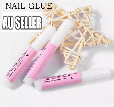 2/5/10 X Super Strong Nail Glue Acrylic UV Gel Nails False Nail Art Tips