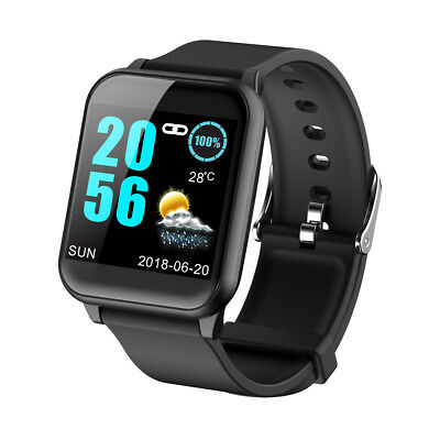 Waterproof Smart Watch Heart Rate Monitor Sports for Android iOS iPhone Samsung