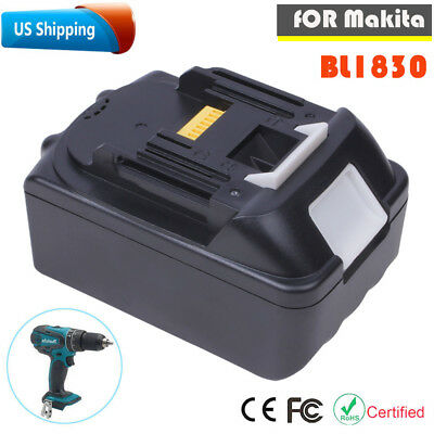 3.0Ah 18V 1830B Battery For Makita Lithium Ion BL1830 BL1815 BL1840 LXT Tools US
