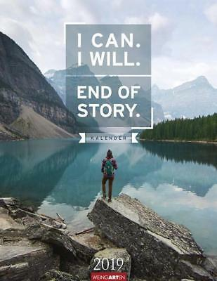 I Can. I Will. End of Story. - Kalender 2019 - 9783840075957 DHL-Versand