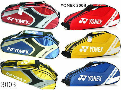 YONEXX Badminton Racket Equipment Bag Racquet Sports Storage bags 200B 300B