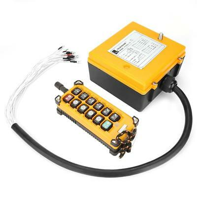 Crane Chain Hoist Push Button Switch Lifting Remote Controller fe