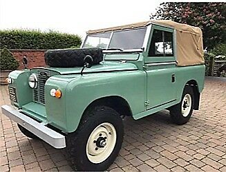 "1960 Land Rover Series 2, 88"" SWB Petrol Soft Top"