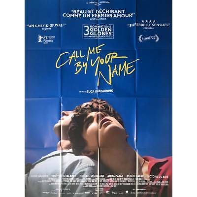 CALL ME BY YOUR NAME Affiche de film  - 120x160 cm. - 2018 - Armie Hammer, Luca