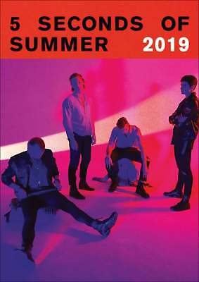 5 Seconds of Summer Official A3 Calendar 2019 Entertainment Month To View