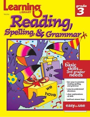 Learning Library Reading, Spelling, and Grammer Grade 3