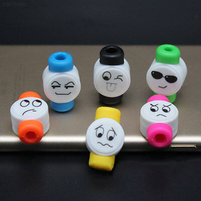 DA92 Cute Cartoon Data Cable Wire Cord Charging Terminal Protection Soft Winder