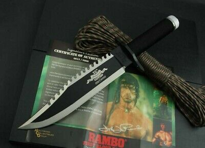 Rambo First Blood Part Ii Collection 25Th Hunting Jungle Survival Bowie Knife