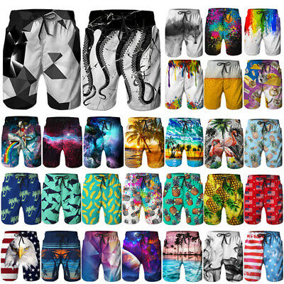 Fashion Quickly Dry Short Pants Mens Boardshorts Beachshorts Surf Board Shorts