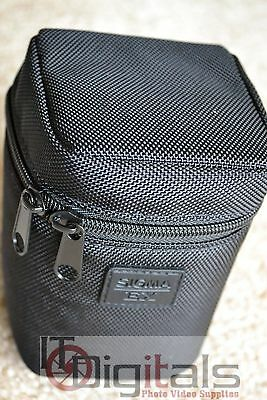 Sigma Genuine EX LS-483H Soft Padded Lens Case Bag Pouch Cover For 8mm EX DG