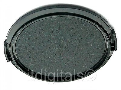 2x 52mm Snap-on Front Lens Cap Cover Fits Filter Ring Adapter Tube 52 mm U & S