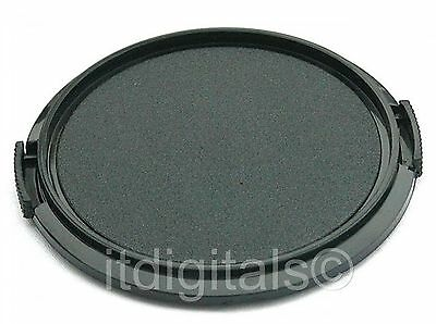 55mm Snap-on Front Lens Cap Cover Fits Filter Hood New 55 mm U&S