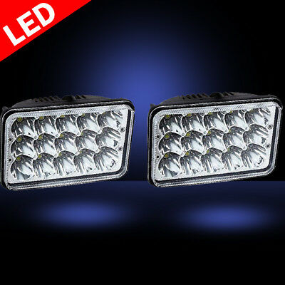 4x6 45W LED Headlight (two packs)(H4651 H4652 H4656 H4666 H6545 Replacement)