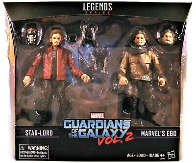 Guardians Of The Galaxy Vol.2 Marvel Legends Star-Lord & Ego Actionfigur 2pk