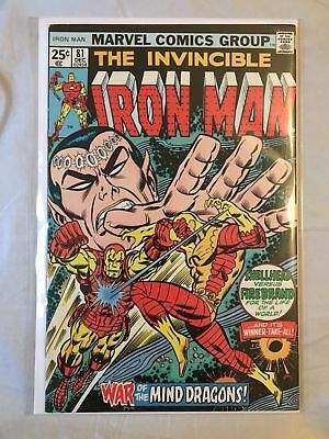 IRON MAN # 81, to # 84, ( 4 ISSUE RUN) 1ST SERIES 1976 MARVEL COMICS - RED GHOST