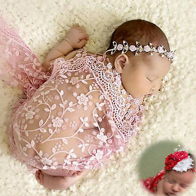 Newborn Maternity Props Baby Photo Props Photography Quilt With Free Headband Id