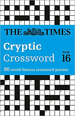 Times Cryptic Crossword 16, New, The Times Mind Games Book
