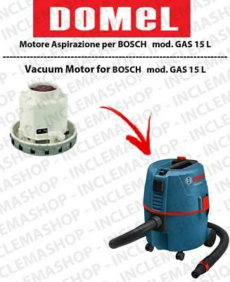 GAS 15 L DOMEL VACUUM MOTOR for vacuum cleaner BOSCH