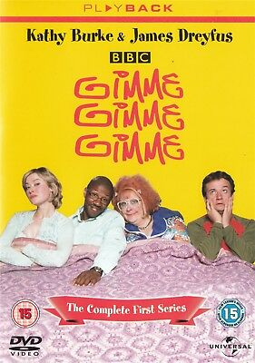 Gimme Gimme Gimme Series 1 (Playback Sleeve) - NEW Region 2 DVD