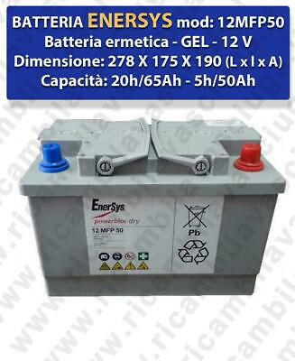 BATTERIA AL GEL for scrubber dryers LAVOR model SCL QUICK 36B   - ENERSYS - 12V