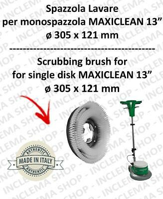 Cleaning BRUSH PPL 0,6 for single disc MAXICLEAN MX-05 13