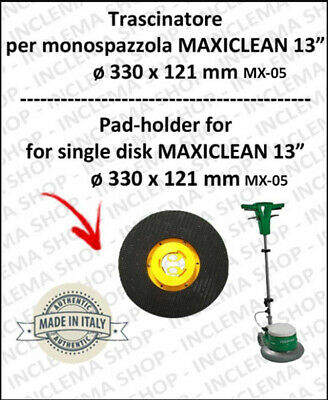 DISCO TRASCINATORE for single disc MAXICLEAN MX-05 13