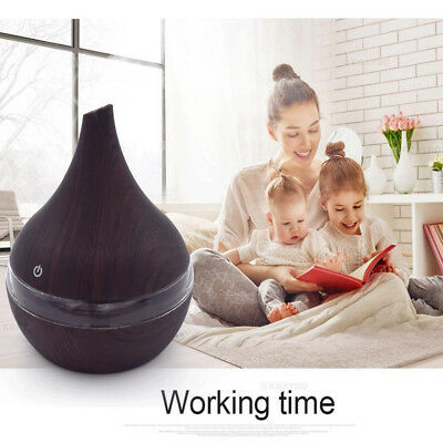 LED Ultrasonic Aroma Diffuser Essential Oil Humidifier Air/Aromatherapy Id