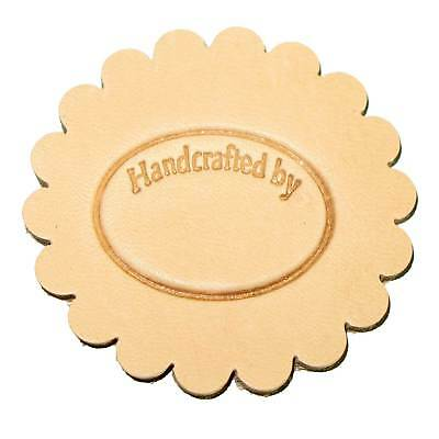 Handcrafted By 3-D Leathercraft Stamp 8689-00