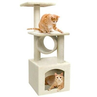 Heavy Duty Cat Tree House Condo Tower Scratch Post Activity Climber Tunnel Perch