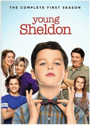 Young Sheldon: The Complete First Season [New DVD] 2 Pack, Ac-3/Dolby Digital,
