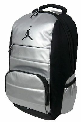 bc337d6a58b7 Nike Air Jordan All World backpack black silver laptop bag one size
