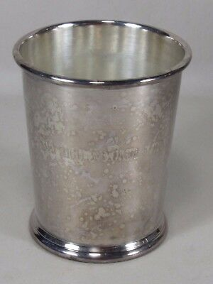 Vintage Indiana Golf Cup Trophy-Award,3rd High Game w/Handicap,Cheshire Silver