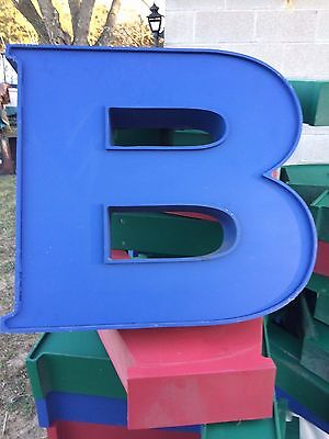 """Decorative """"Letters"""" (Indoor or Outdoor) Wall Hanging - 19 1/2"""" x 12"""" x 4"""" (Big)"""