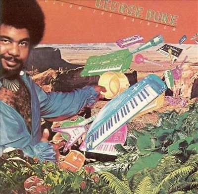 George Duke Follow The Rainbow NEAR MINT Epic Vinyl LP