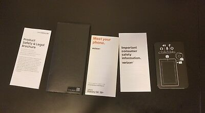 Samsung Galaxy S8 Plus Manuals Booklets Only