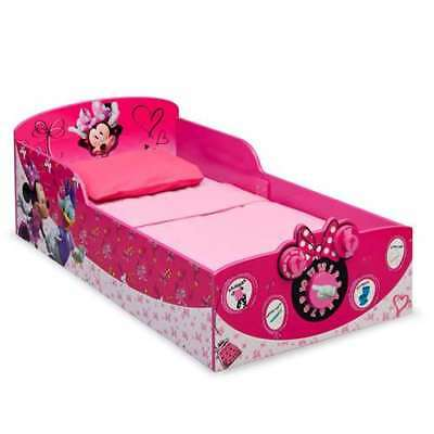 Delta Children Minnie Mouse Interactive Wood Toddler Bed (Open Box)