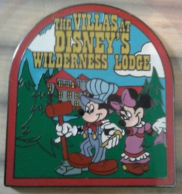 Disney's Villas at Wilderness Lodge Grand Opening LE Pins for DVC Members
