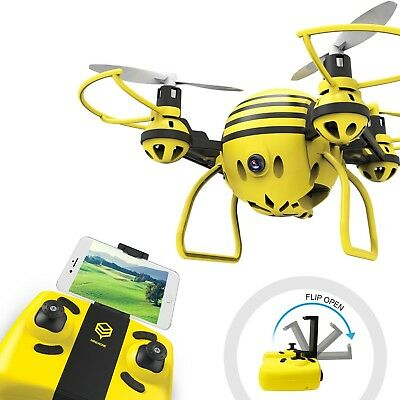 HASAKEE H1 FPV RC Drone with HD Live Video WiFi Cameraand Headless Mode6-Axis